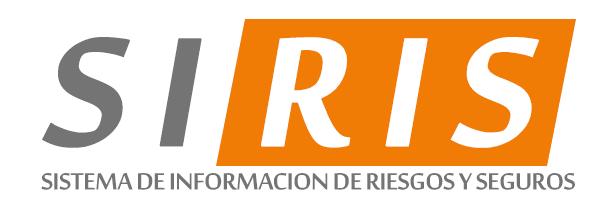 SIRIS - Sistema de Información de Riesgos y Seguros