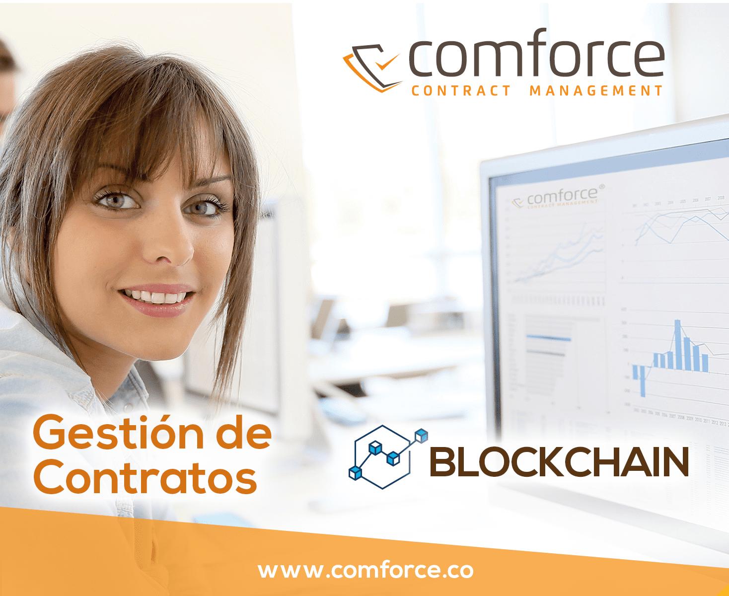 comforce Gestion de Contratos blockchain